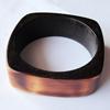 Resin Bracelet, width:26mm, Inner Diameter about:6.8cm, Sold by PC