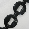 Acrylic Chains, Lead-free, Dyed Color, 40mm, Sold by Bag