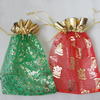 Organza Gift Jewelry Bag, Mixed Color, about 14cm wide, 20cm long, Sold by Group