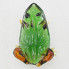 Glass Decorations, Frog 62x45mm, Sold by PC