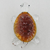 Glass Decorations, Turtle 64x43mm, Sold by PC