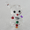 Glass Decorations, 45x24mm, Sold by PC