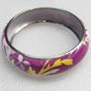 Iron Bracelet, width:21mm, Inner diameter:70mm, Outside diameter:83mm, Sold by Dozen