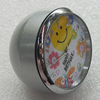 Fashional Watch, Metal Zinc Alloy, Decorations, Round 40mm, Sold by PC