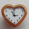 Fashional Watch, Metal Zinc Alloy, Decorations, Heart 42x38mm, Sold by PC