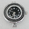 Fashional Watch Face,Zinc Alloy, 31x25mm, Sold by PC