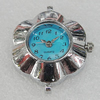 Fashional Watch Face,Zinc Alloy, 30x23mm, Sold by PC
