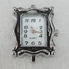 Fashional Watch Face,Zinc Alloy, 29x20mm, Sold by PC