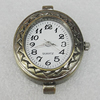 Fashional Watch Face,Zinc Alloy, 34x25mm, Sold by PC