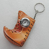 Key Chain With Watch, Boot 70x55mm, Sold by PC