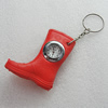 Key Chain With Watch, Boot 57x49mm, Sold by PC