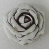 Porcelain Cabochons, No Hole Headwear & Costume Accessory, Flower size:40mm, Sold by PC