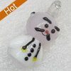 Handmade Lampwork Pendant, 15x28mm, Hole:Approx 3mm, Sold by PC