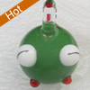 Handmade Lampwork Pendant, 18x28mm, Hole:Approx 3mm, Sold by PC