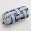 Ceramics Beads, Column 8x18mm Hole:2.5mm, Sold by Bag