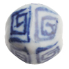 Ceramics Beads, 11x13mm Hole:2.5mm, Sold by Bag