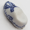 Ceramics Beads, Shoes 12x24mm Hole:2.5mm, Sold by Bag