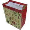 Gift Shopping Bag, Material:Paper, Size: about 11cm wide, 14cm high, 7cm bottom wide, Sold by Box