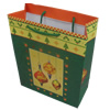 Gift Shopping Bag, Material:Paper, Size: about 25cm wide, 33cm high, 10cm bottom wide, Sold by Box