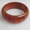 Wood Bracelet, width:28mm, Inner diameter:65mm, Outside diameter:80mm, Sold by Dozen