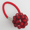 Fashionable Hair Ornament with Acrylic, 32mm, Sold by Group