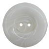 Resin Button, Costume Accessories, Flat Round 25mm in diameter, Hole:2mm, Sold by Bag