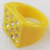 Resin Ring, 20mm, Ring:19mm inner diameter, Sold by Box