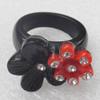 Resin Ring, 19x25mm, Ring:19mm inner diameter, Sold by Box