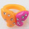 Resin Ring, 25x20mm, Ring:19mm inner diameter, Sold by Box