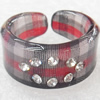 Acrylic Ring, 12mm, Ring:17mm inner diameter, Sold by Box