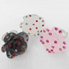 Iron Ring, 30mm, Mix color, Ring:18mm inner diameter, Sold by Box