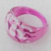 Resin Ring, 14mm, Ring:18mm inner diameter, Sold by Box