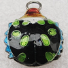 Cloisonne Pendants, Animal 17x20x8mm Hole:1.5mm, Sold by PC