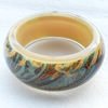 Resin Bracelet, width:32mm, Inner diameter:65mm, Sold by PC