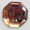 Crystal Cabochons, Polygon, 25mm, Sold by Bag
