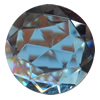 Crystal Cabochons, Flat Round, 35mm, Sold by Bag