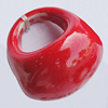Ceramics Finger Rings, 30mm, Sold by Bag