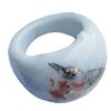 Ceramics Finger Rings, 16mm, Sold by Bag