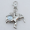 Metal Alloy Fashionable Waist Watch, Angel 46x47mm, Sold by PC