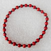 Fashion Coral Bracelet, width:5mm, Length Approx:6.1-inch, Sold by Strand