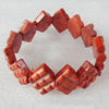Fashion Coral Bracelet, width:25mm, Length Approx:7.8-inch, Sold by Strand