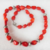 Fashion Coral Necklace, width:10mm, Length Approx:15.7-inch, Sold by Strand