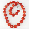 Fashion Coral Necklace, width:14mm, Length Approx:15.7-inch, Sold by Strand