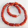 Fashion Coral Necklace, width:11mm, Length Approx:15.7-inch, Sold by Strand