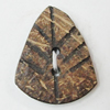 Coconut Shell Button, 25x21mm Hole:2mm, Sold by Bag