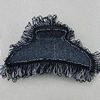 Fashional hair Clip with Cloth, 90x50mm, Sold by Group