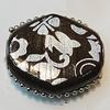 Handmade Indonesia Beads, Diamond 25x23mm Hole:4.5mm, Sold by PC