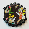 Handmade Indonesia Beads, 37x34mm Hole:4.5mm, Sold by PC