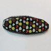 Handmade Indonesia Beads, Flat Oval 58x22mm Hole:4.5mm, Sold by PC