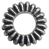 Antique Silver Plastic Beads, 17mm, Hole:Approx 1mm, Sold by Bag